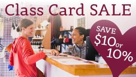 Jala Yoga Class Card Sale
