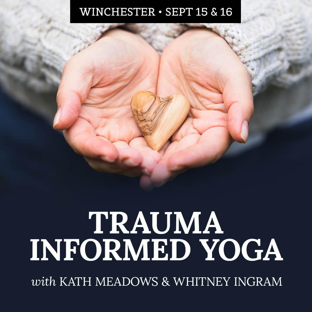 Trauma Informed Yoga Workshop