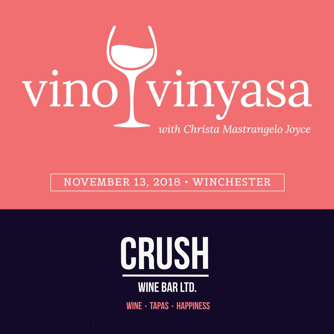 Jala CRUSH Vino & Vinyasa