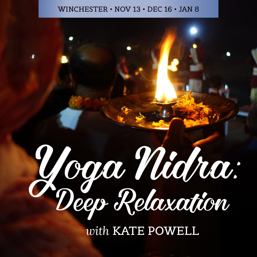 Yoga Nidra w Kate Powell